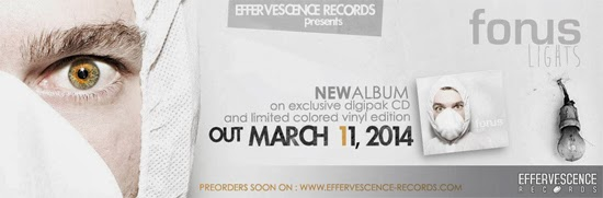 <center>Effervescence Records announce release date for new Forus album 'Lights'</center>