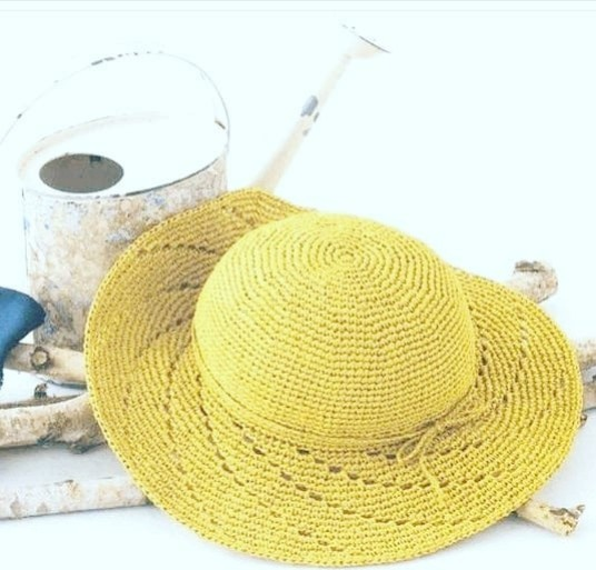 Chapéu Amarelo Maravilhoso