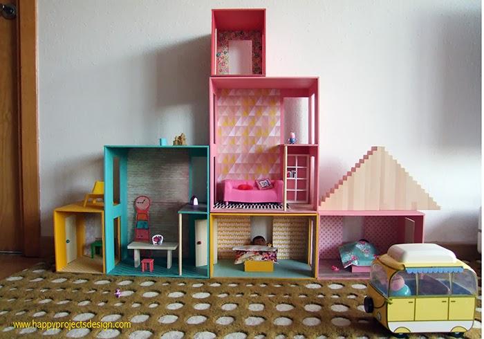 Materiali poveri per giochi ricchi una casa da portare in for Casita de madera ikea