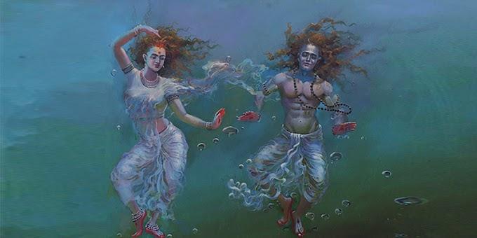 Ardha Nari, Non-Dual dari Penyatuan Shiva-Shakti