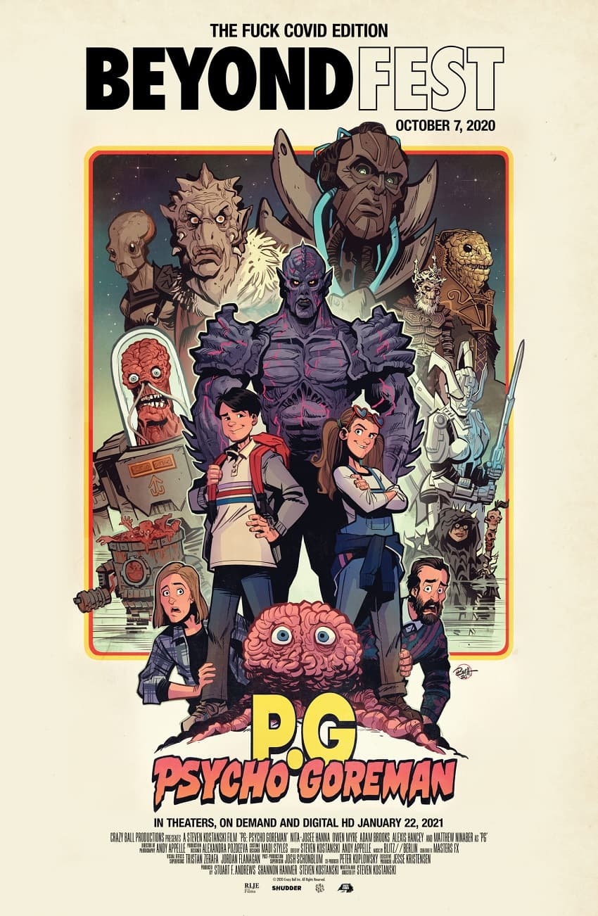 Psycho Goreman - Постер