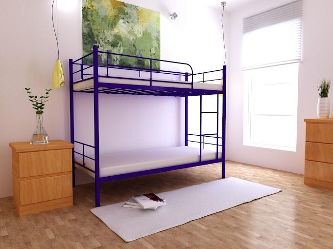 Кровать двухъярусная металлическая Сильвия 80х190/200  ТМ MegaOpt