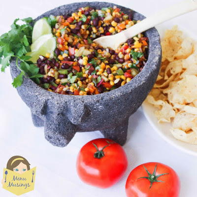black bean and corn salsa_menumusings.com