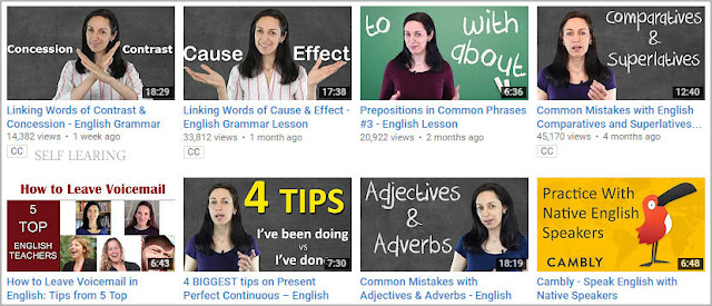 قناة Anglo link لهجة بريطانية