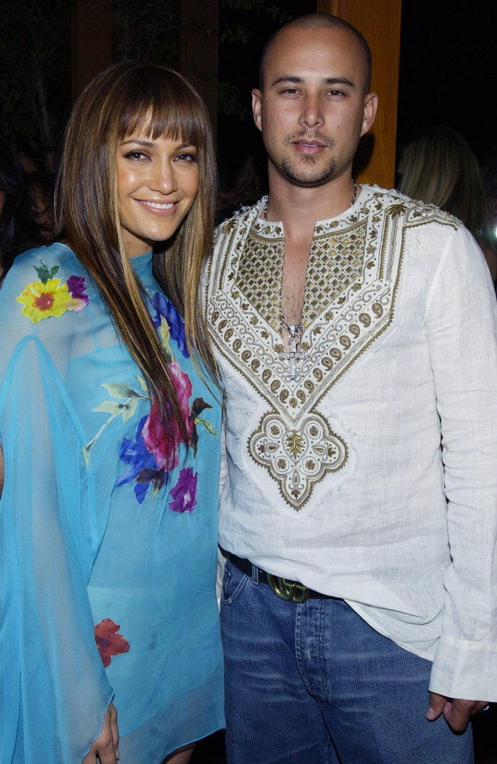 """3- Chris Good Lopez met dancer Chris Judd on the set of the music video """"Love Don't Cost a Thing"""" and they married in September 2001. The marriage ended by June 2002 and their divorce ended in 2003."""