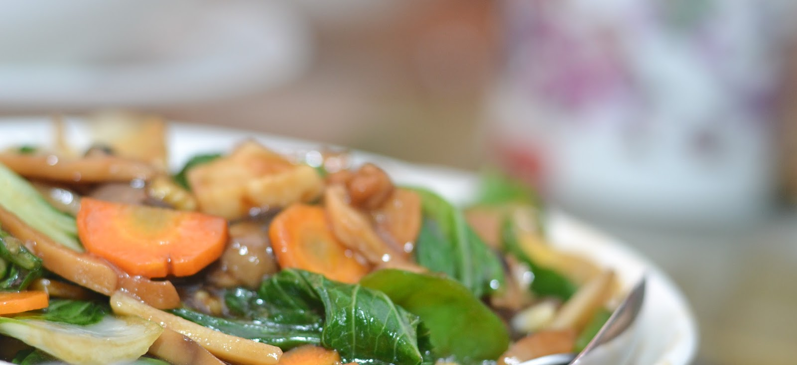 Chinese Vegetables Sauce with Carrots