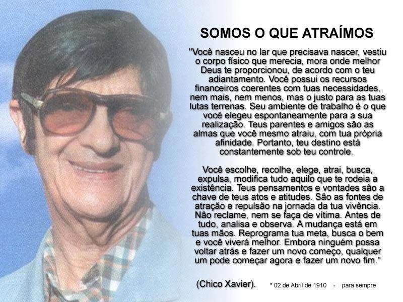 Mensagens De Chico Xavier Para Facebook: O Diário, Diário De Uma Noiva...: Mensagem