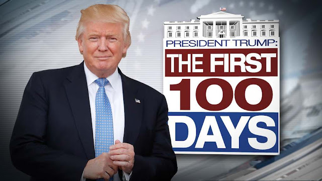 Trump's first 100 days been a success or a failure