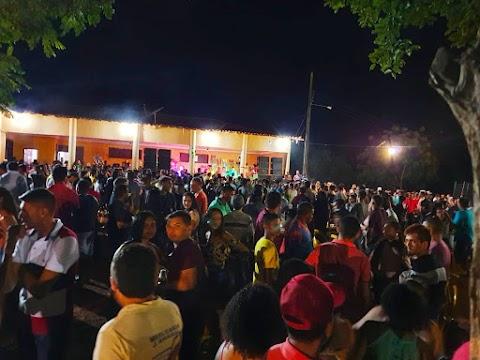 Multidão de foliões participa de Prévia Carnavalesca realizada por Graciane Miranda em Lagoa Grande