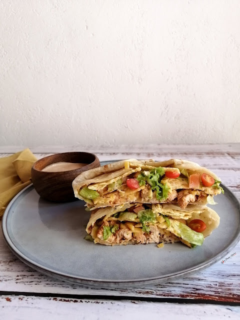 Crunchwrap Supreme Recipe, crunchwrap supreme, taco bell, home-made crunchwrap supreme, mexican crema, mexican crema recipe, chicken recipe, recipe, food, food blogger, food photography, food stylist, food flatlay, @ home warehouse, mr price home, spicy fusion kitchen, botswana