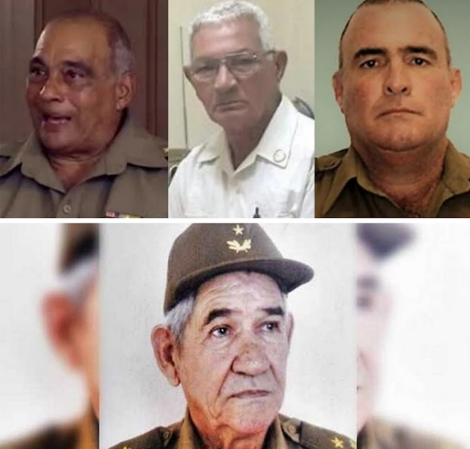 Generales en peligro de extinción: al paso que vamos, en agosto no queda un general en Cuba