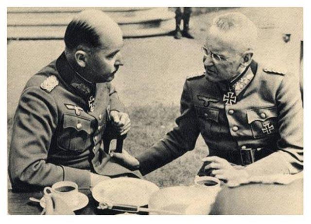 Franz Halder with Field Marshal Wilhelm List worldwartwo.filminspector.com