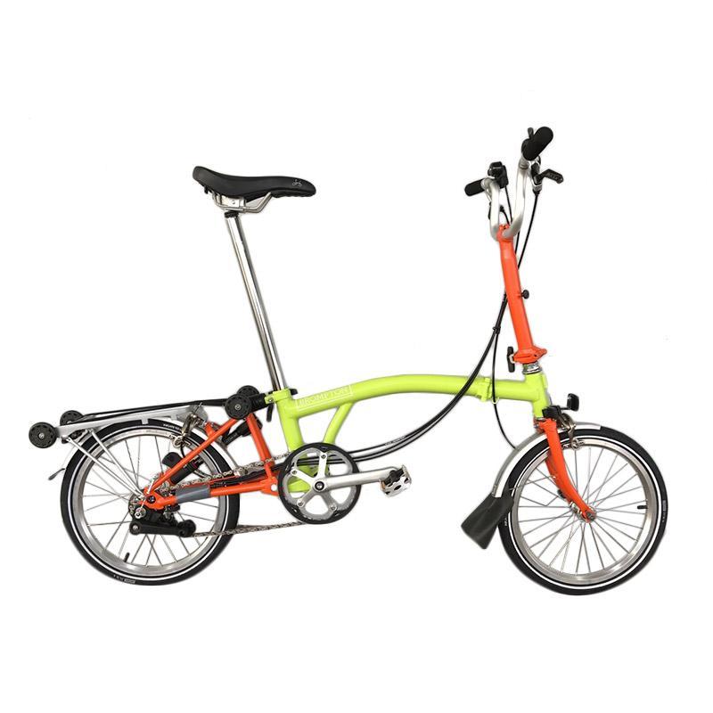Serbsepeda Jual Sepeda Lipat Brompton M6R 2017 Lime