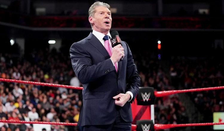 Vince McMahon on WWE RAW