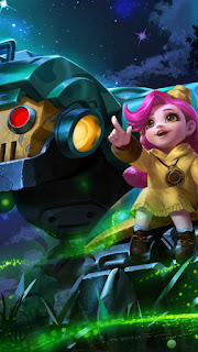 Jawhead Girl Scout Heroes Fighter of Skins V1
