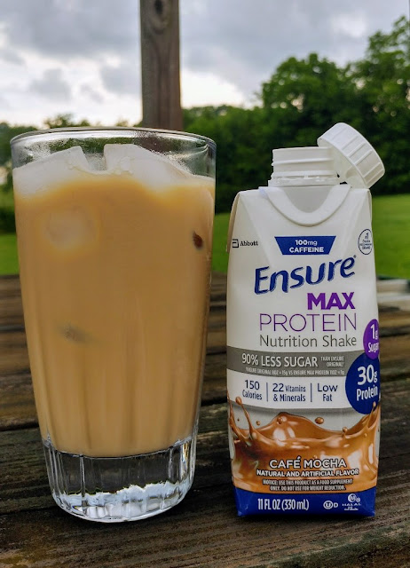 #ad try #EnsureMaxProteinAtWalmart over ice