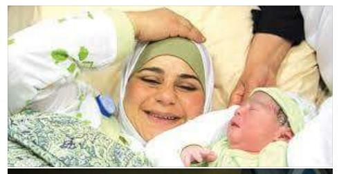 Wanita Paling Subur Di Dunia Adalah Wanita Palestina, Mati 1 Tumbuh 1000