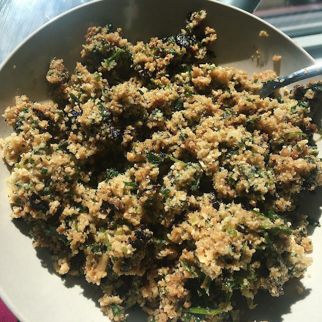 Rawvolution Cauliflower Couscous