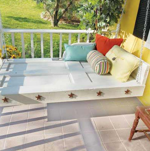 DIY PATIO AND GARDEN SWINGS