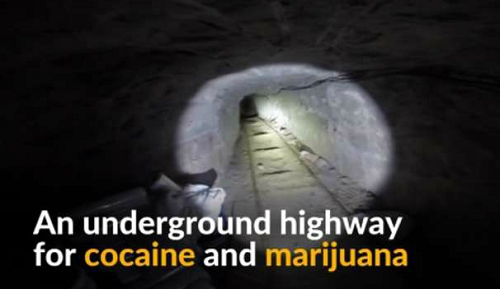 U.S. Border Agents Seize Longest Mexico-California Drug Tunnel Yet