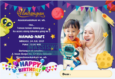 undangan ulang tahun
