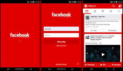 تحميل فيسبوك احمر