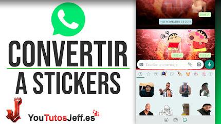Como Convertir Fotos en Stickers para Whatsapp - Trucos Whatsap