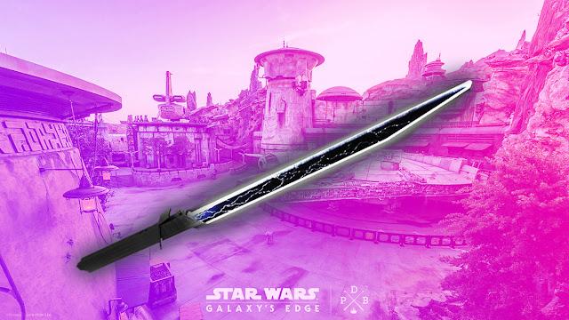 Disney Star Wars Galaxy's Edge Darksaber First look review May 2021