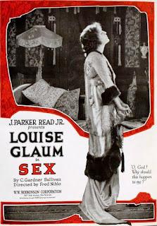 FIlmplansch för filmen Sex mad Laura Glaum