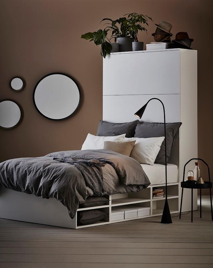 Decoración del dormitorio con espejos