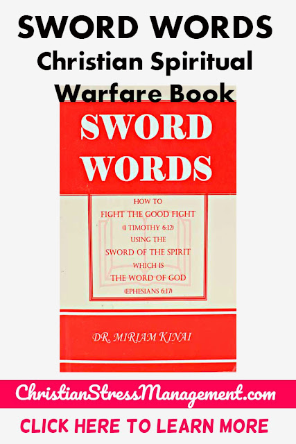 SWORD WORDS is a Christian Spiritual Warfare book which teaches you how to fight the good fight (1 Timothy 6:12) by using the Sword of the Spirit which is the Word of God. (Ephesians 6:17)