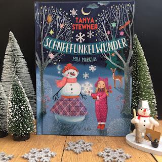 """Winterbuch für Kinder: """"Schneefunkelwunder"""" von Tanya Stewner, illustriert von Mila Marquis, erschienen im Fischer KJB Verlag, Rezension auf Kinderbuchblog Familienbücherei"""