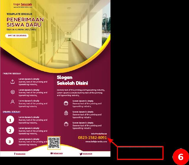 Free File : Download Kumpulan Brosur Sekolah Dasar (SD) Word Gratis