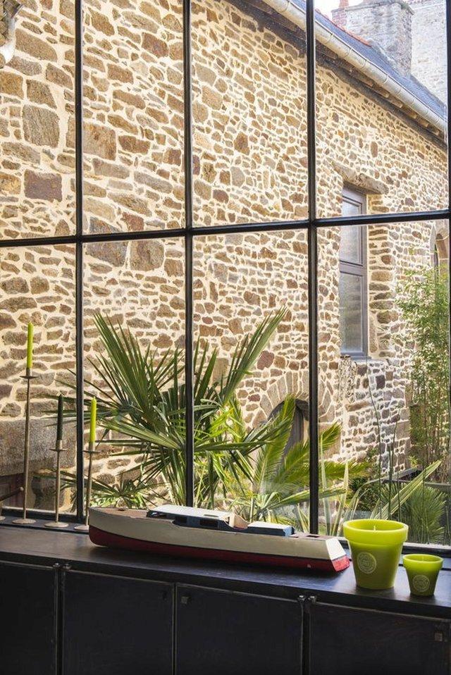 Casa in stile industriale in versione francese
