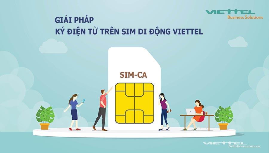 Ảnh minh họa: Tích hợp chữ ký số Viettel-CA vào SIM di động Viettel