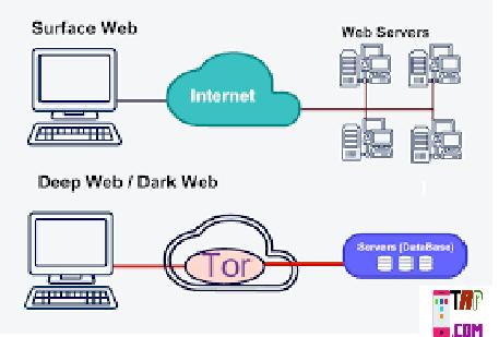 Dark web और deep web  क्या है.