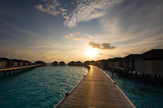 Resort Amari Havodda Maldive-sunset
