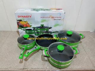 Panci Dunasty 7 pcs Set Non Stick Coocware