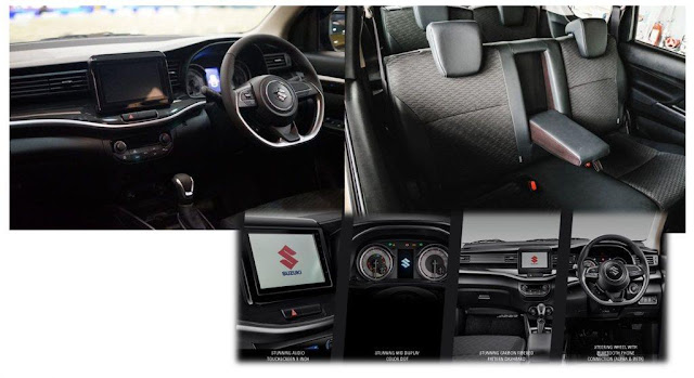 Sisi Interior Suzuki XL7 2020