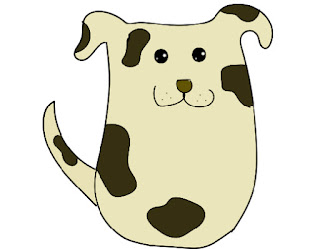 puppy dog image drawn in adobe illustrator free blog art jpg