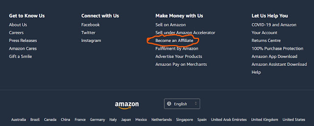 become an amazon affiliator