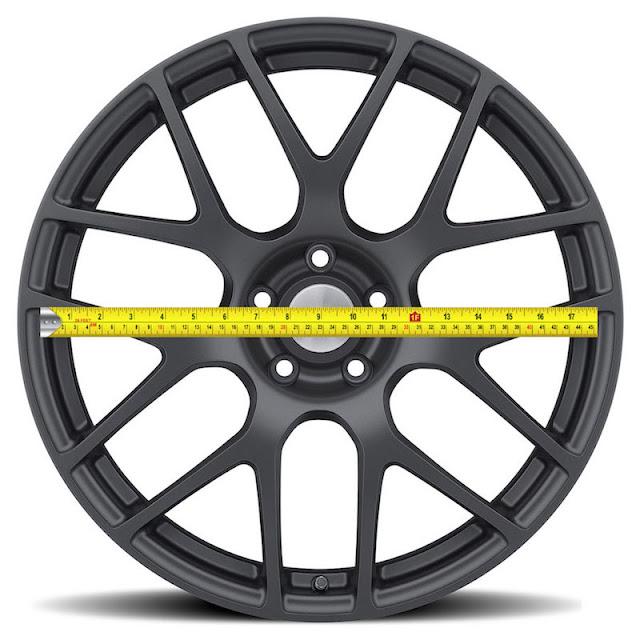 Cómo medir el diámetro de la rueda