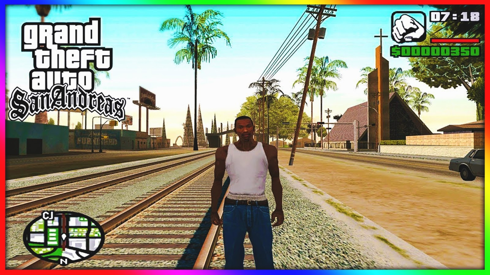 Download GTA SanAndreas APK + DATA   Free Android Game New