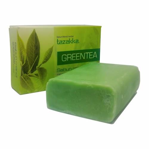 Sabun Green Tea Tazakka