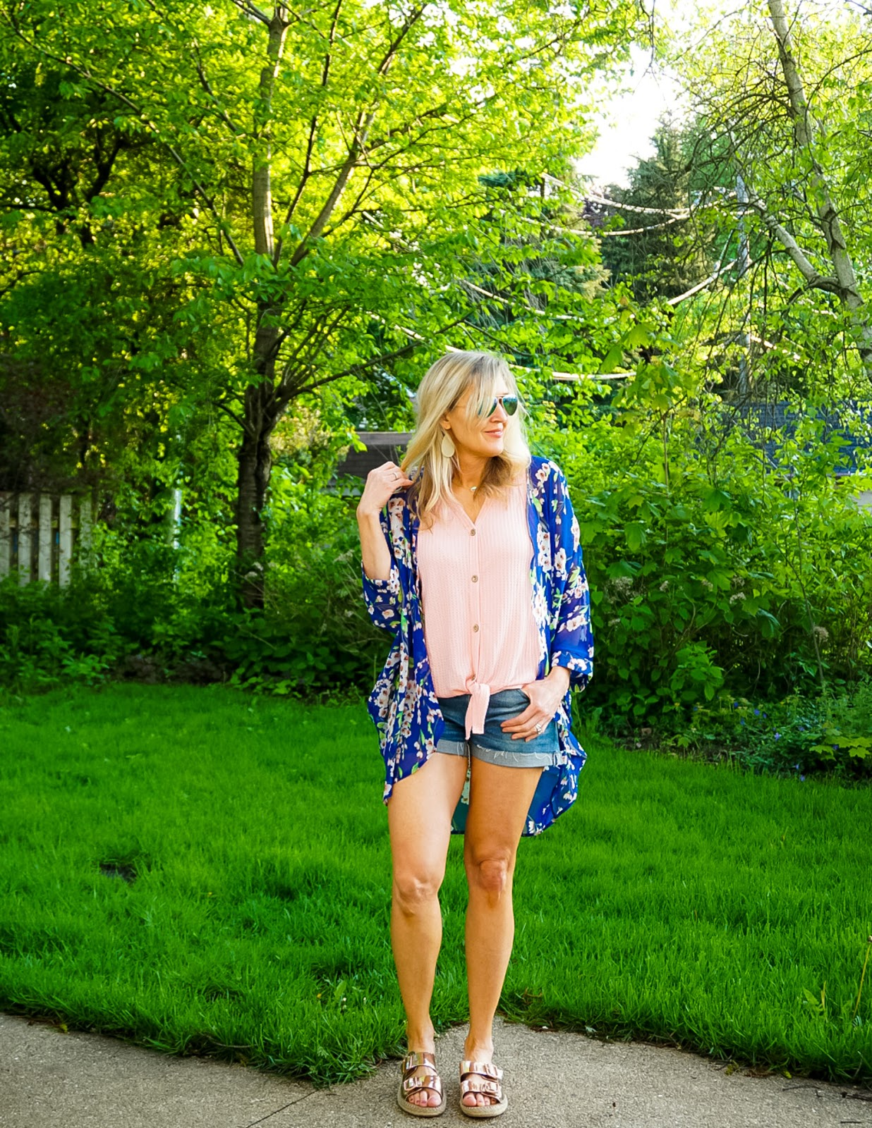 How to style a summer kimono