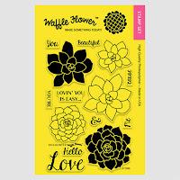 Succulents Stamp Set