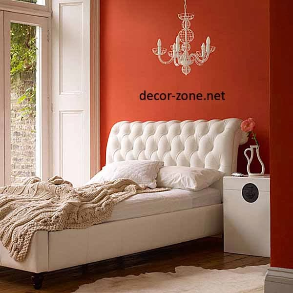 orange bedroom paint color ideas