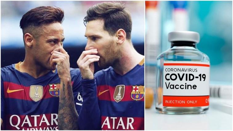 Messi Neymar Chinese COVID-19 Vaccination