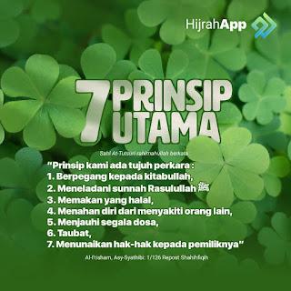7 prinsip utama
