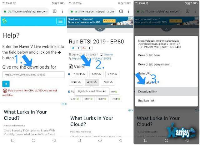 Cara Download Video di V Live dengan Mudah dari HP  Cara Download Video di V Live dengan Gampang Bisa dari HP & PC